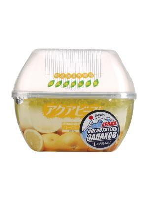 Nagara Aqua Bead Поглотитель запаха Грейпфрут 200 гр. Цвет: желтый