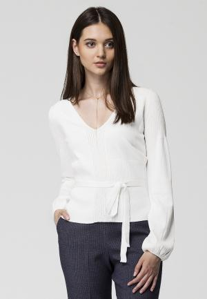 Пуловер Vilatte. Цвет: белый