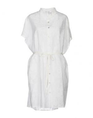 Короткое платье PYAAR. Цвет: белый