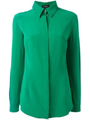 Long sleeve shirt Moeva. Цвет: зелёный
