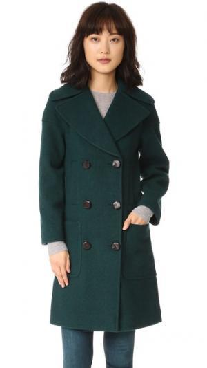 Пальто Richards M.i.h Jeans. Цвет: зеленый