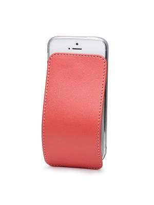 Чехол для iPhone 5/5s/SE Robert Теленок Marcel. Цвет: светло-коралловый, коралловый