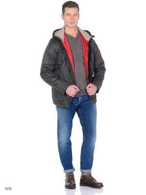 Куртка Scorpion Bay. Цвет: темно-серый