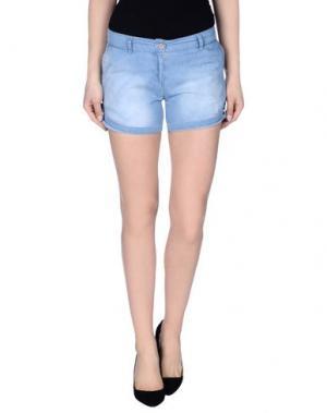 Джинсовые шорты MAGILLA. Цвет: синий