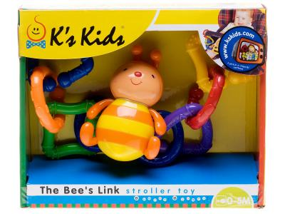 Подвеска Пчелка K'S Kids. Цвет: оранжевый, желтый, синий