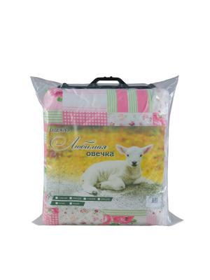 Одеяла  Любимая овечка Фаворит текстиль. Цвет: бежевый, молочный, розовый, желтый, зеленый, фиолетовый