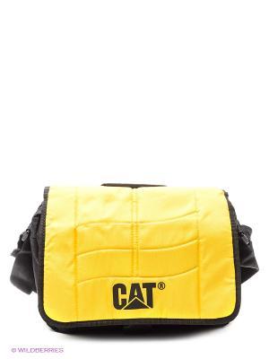 Сумка на плечо Caterpillar Объём 8,5л. Цвет: желтый