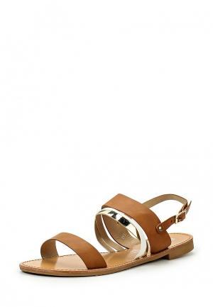 Сандалии Style Shoes. Цвет: коричневый