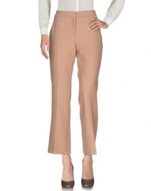 Повседневные брюки TARA JARMON. Цвет: верблюжий