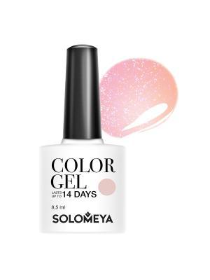 Гель-лак Color Gel My darling SCGK005/Мой дорогой SOLOMEYA. Цвет: бледно-розовый, персиковый