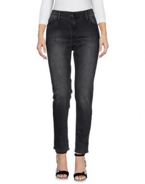 Джинсовые брюки BLACK ORCHID. Цвет: свинцово-серый