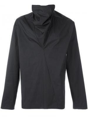 Пиджак с асимметричным воротником Damir Doma. Цвет: серый