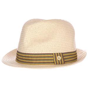 Шляпа  Shanty Beige/Green Quiksilver. Цвет: бежевый,желтый,зеленый