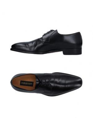 Обувь на шнурках PAKERSON. Цвет: черный
