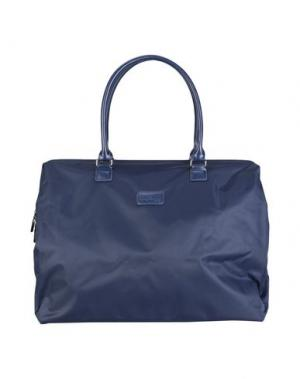Дорожная сумка LIPAULT. Цвет: темно-синий