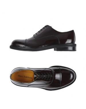 Обувь на шнурках MARC EDELSON. Цвет: баклажанный