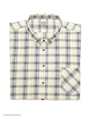 Рубашка Greg Horman. Цвет: желтый