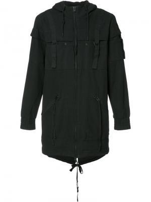 Куртка на молнии с капюшоном Publish. Цвет: чёрный