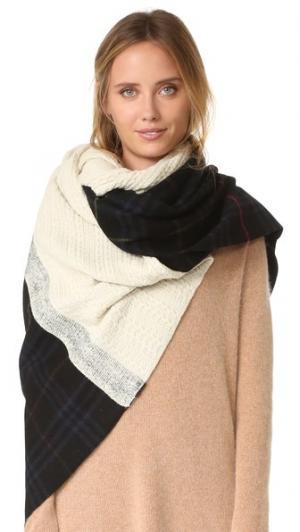 Объемный клетчатый шарф Neo Standard Form