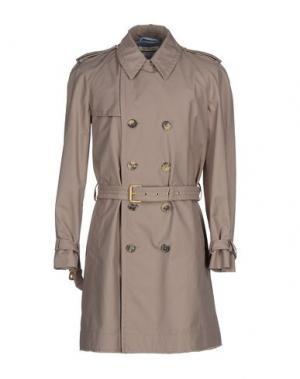 Легкое пальто MARC JACOBS. Цвет: светло-коричневый