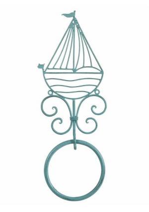 Вешалка для полотенец Heine Home. Цвет: синий