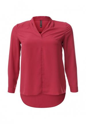 Блуза Bestia Donna. Цвет: фуксия