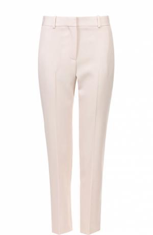 Брюки прямого кроя с карманами и стрелками Givenchy. Цвет: бежевый