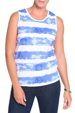 Блуза, 2 шт. HELENA VERA. Цвет: синий