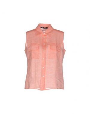 Pубашка EMISPHERE. Цвет: лососево-розовый
