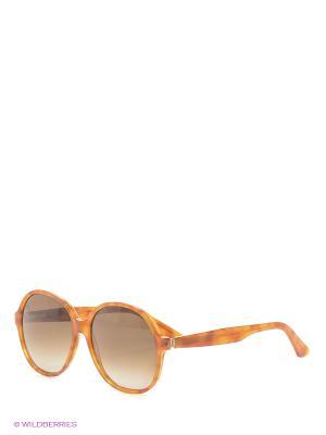 Солнцезащитные очки OXYDO. Цвет: рыжий, оранжевый