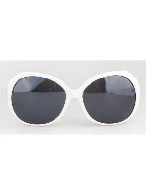 Солнцезащитные очки Lounge. Цвет: белый