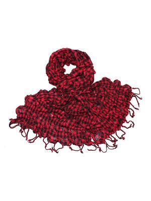 Платок Ethnica. Цвет: красный, черный