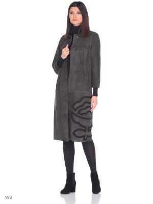 Пальто MONDIAL. Цвет: серый