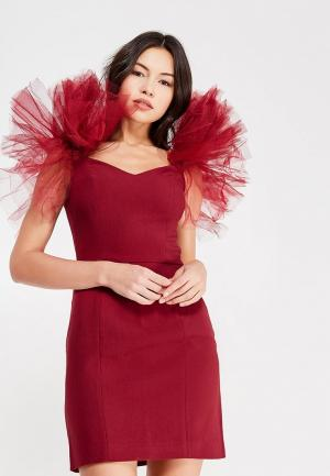Платье Mazal. Цвет: бордовый