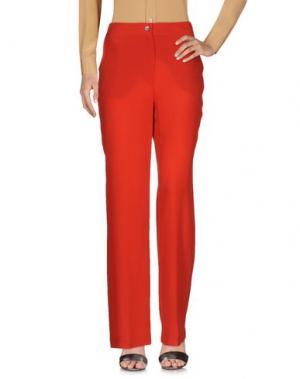 Повседневные брюки SIMONETTA RAVIZZA. Цвет: красный