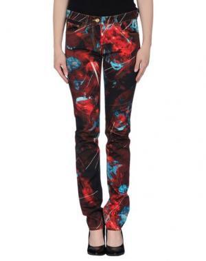 Повседневные брюки CALLA. Цвет: красно-коричневый