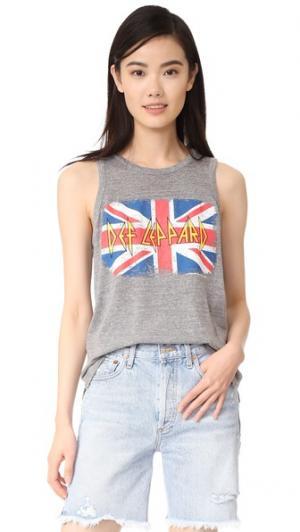 Майка British Leppard Chaser. Цвет: серый полосчатый