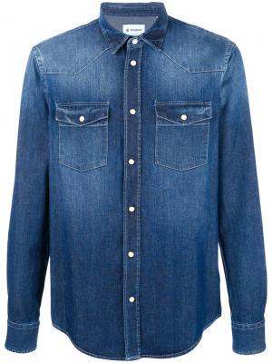 Джинсовая рубашка Neely Dondup. Цвет: синий