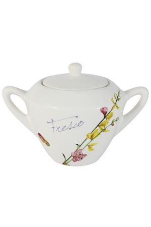 Сахарница Фреско 0,35 л Ceramiche Viva. Цвет: мультиколор