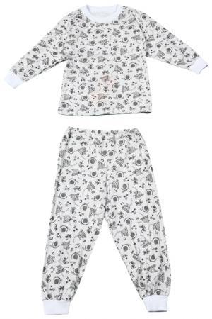 Пижама M&D. Цвет: серый