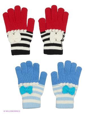 Перчатки FOMAS. Цвет: голубой, красный, белый