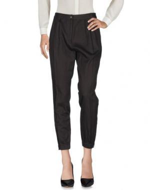 Повседневные брюки MAURO GRIFONI. Цвет: стальной серый