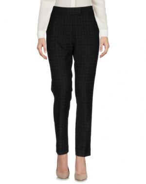 Повседневные брюки ORLA KIELY. Цвет: темно-коричневый