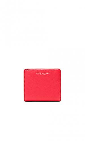 Открытый бумажник gotham Marc Jacobs. Цвет: красный