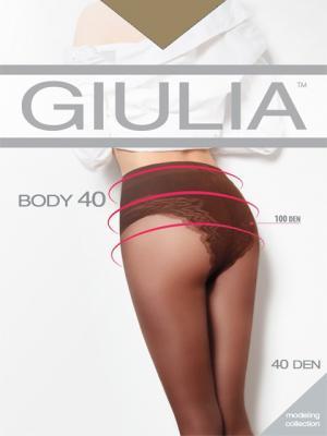 Колготки BODY 40 Giulia. Цвет: рыжий