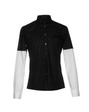 Pубашка URBAN LES HOMMES. Цвет: черный