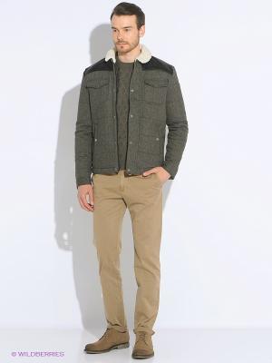 Куртка LEE COOPER. Цвет: серый