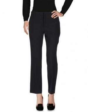 Повседневные брюки TWELVE-T. Цвет: стальной серый