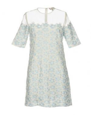 Короткое платье PAUL & JOE SISTER. Цвет: небесно-голубой