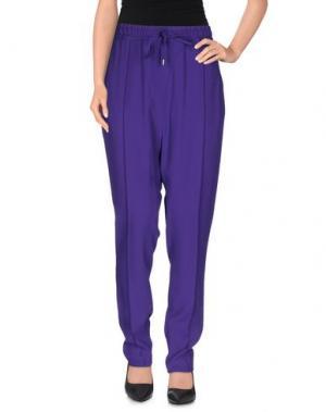 Повседневные брюки COSTUME NEMUTSO. Цвет: фиолетовый